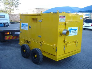 Mobile Vacuum Unit